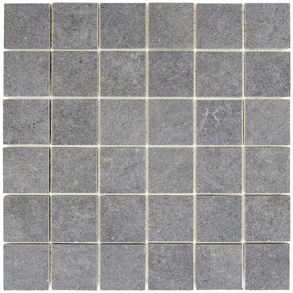 Haut Monde 2 x 2 Ceramic Mosaic Tile in Empire Black by Daltile