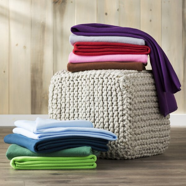 Wayfair Basics Fleece Throw Blanket by Wayfair Basics™