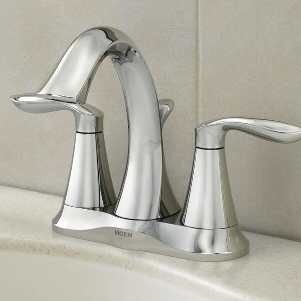 Eva Two Handle Bathroom Faucet with Optional Pop U
