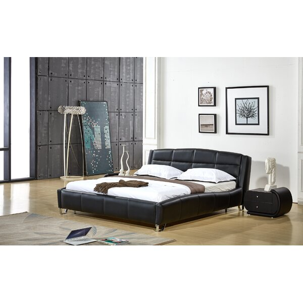 Elkhorn Upholstered Platform Bed by Orren Ellis