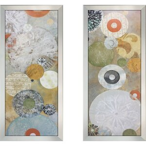 'Beach Spa I' 2 Piece Framed Print Set by Latitude Run