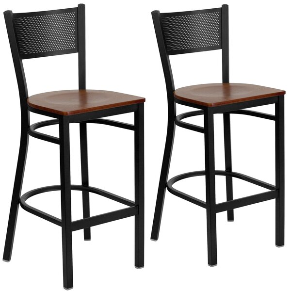 Chafin 28 Swivel Bar Stool (Set of 2) by Winston Porter