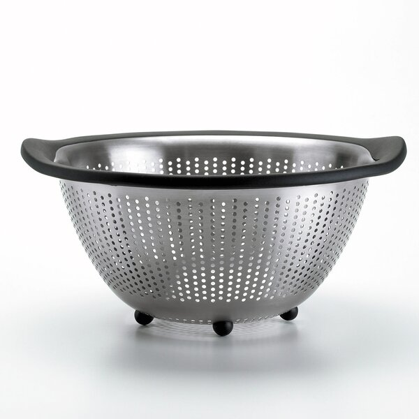 Good Grips 3 Quart Stainless Steel Colander by OXO