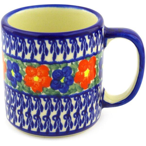 Polish Pottery 12 oz. Stoneware Mug by Polmedia