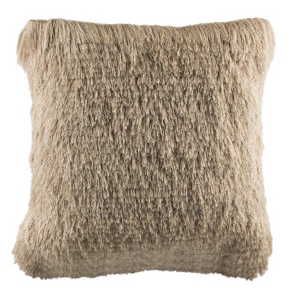 Beachdale Chic Shag Throw Pillow by House of Hampton