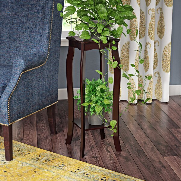Pettey Multi-Tiered Solid Wood End Table With Storage By Andover Mills