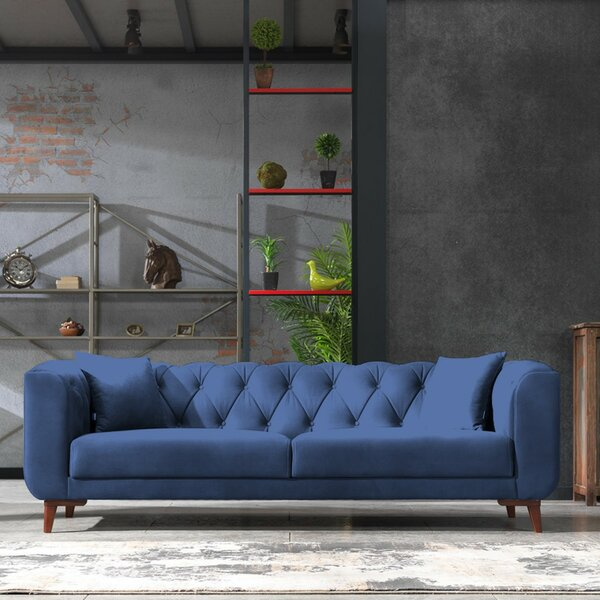 Free S&H Danos Chesterfield Sofa
