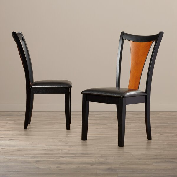 Kayla Upholstered Dining Chair (Set of 2) by Bloomsbury Market