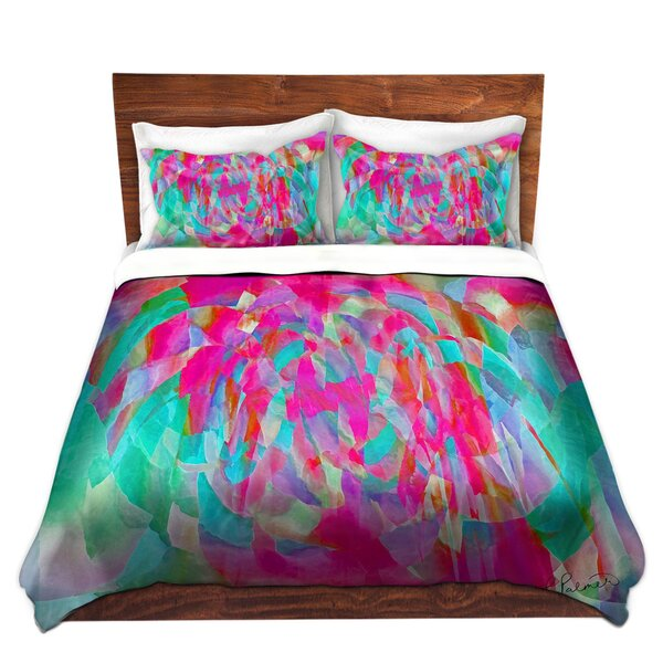 Mclaurin Ruth Palmer Hot Pink Chards Microfiber Duvet Covers