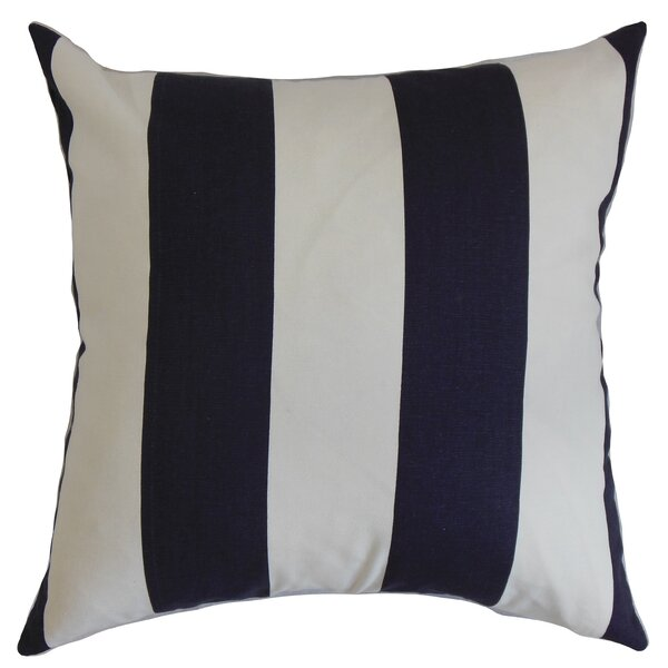 Leesburg Cotton Throw Pillow by The Pillow Collection
