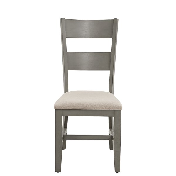 Azuela Upholstered Dining Chair (Set of 2) by Canora Grey Canora Grey