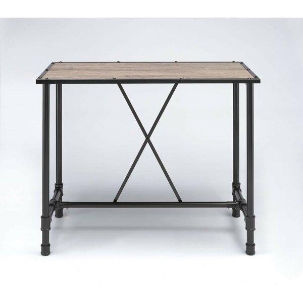 Calton Industrial Rectangular Metal Pub Table By Williston Forge