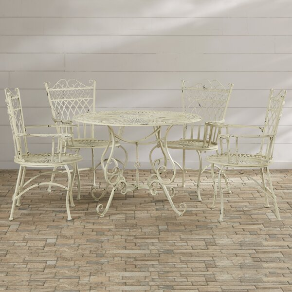 Lamarre 5 Piece Dining Set by Lark Manor