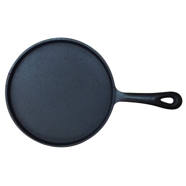 Round Pre-Seasoned Cast Iron 8 Frying Pan by Wee's Beyond