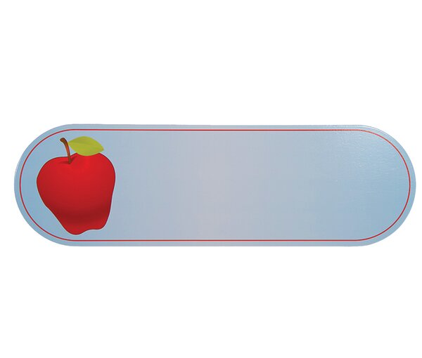 Sign Apple Wall Plaque by Guidecraft