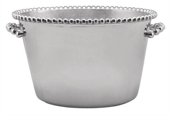 String of Pearls Ice Bucket by Mariposa