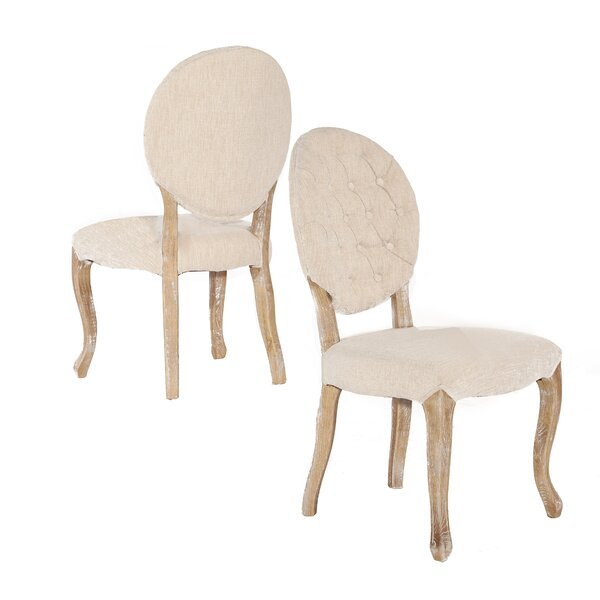Aletha Upholstered Dining Chair (Set of 2) by Lark Manor