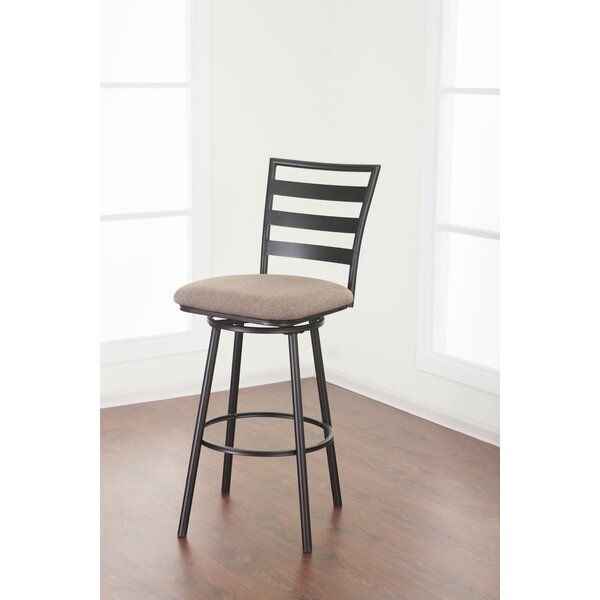 Vizcarrondo 29 Swivel Bar Stool by Latitude Run