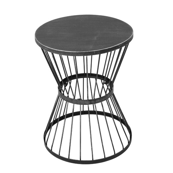 Mebane Metal Side Table by Wrought Studio