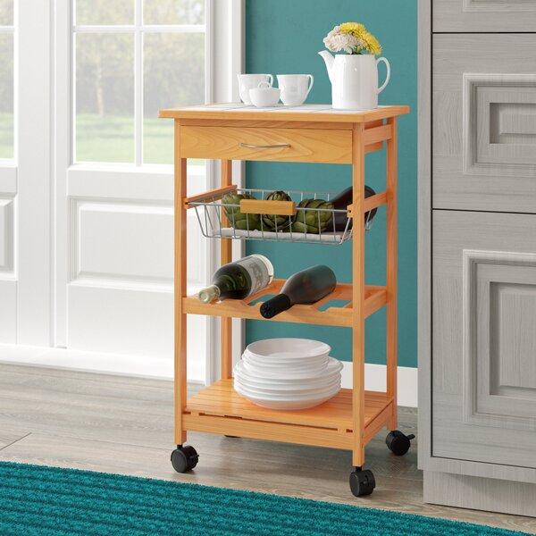 Cartee Kitchen Cart by Winston Porter