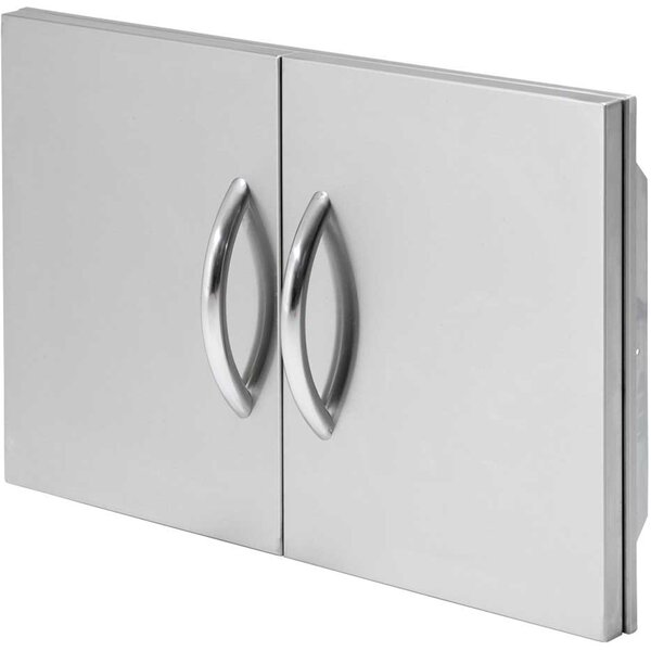 30 Double Stainless Steel Access Door by Cal Flame