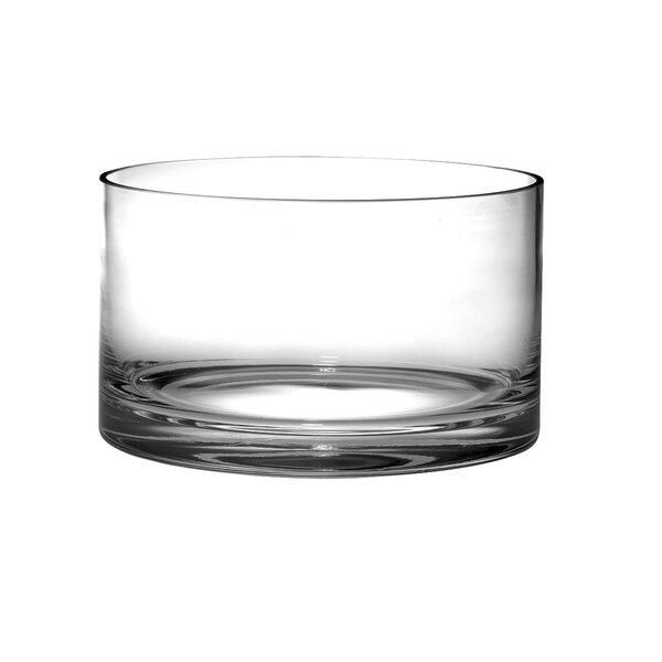 Classic Clear Straight Sided Salad Bowl by Majestic Crystal