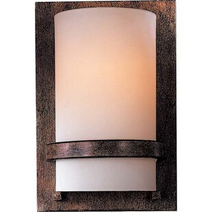 Reviews 1-Light Wall Sconce By Minka Lavery
