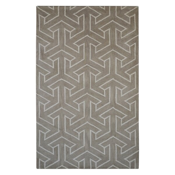 Henley Handmade Beige Area Rug by Eastern Weavers