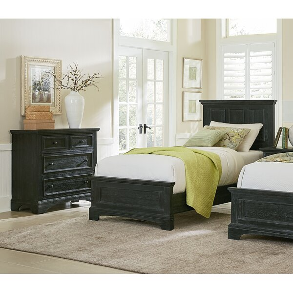 Farmhouse Twin Panel 3 Piece Bedroom Set by Inspired by Bassett