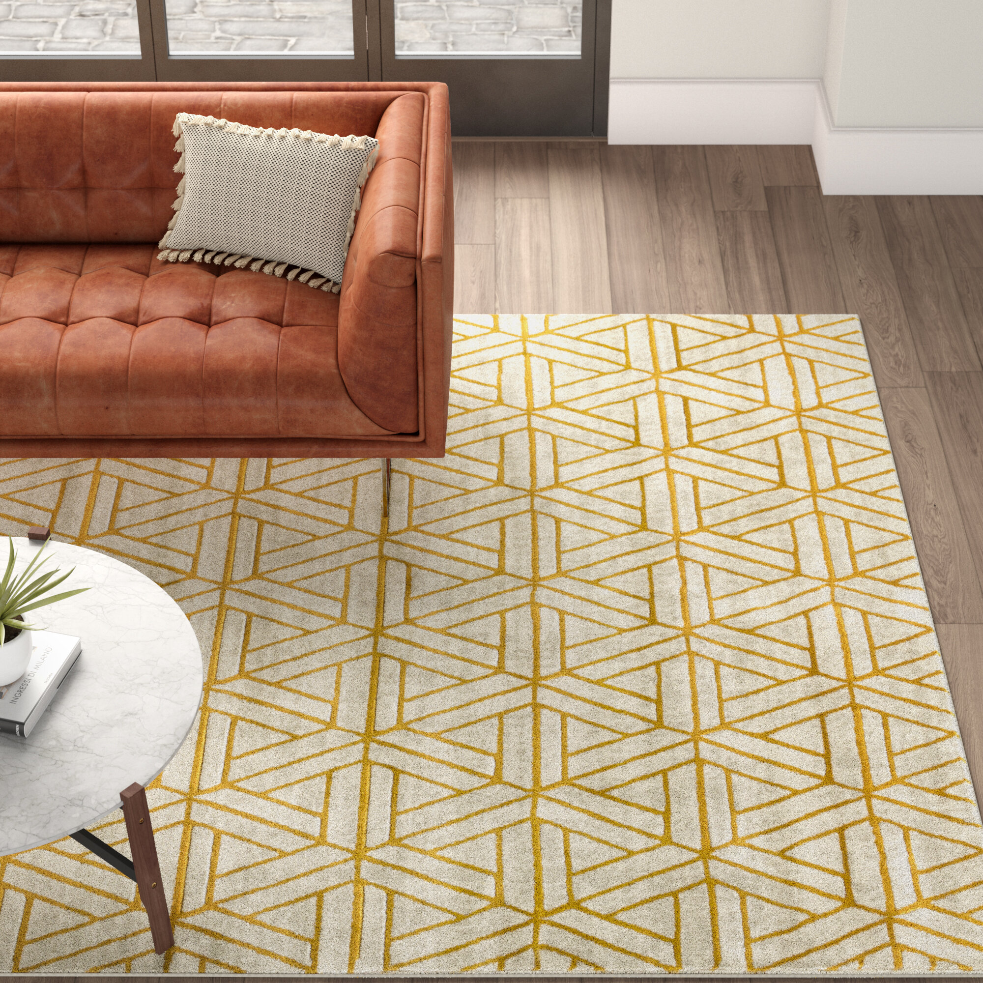 This Area Rug Has A Mix Of Transitional And Traditional Patterns In Woven Polypropylene With Hand Carving Accents