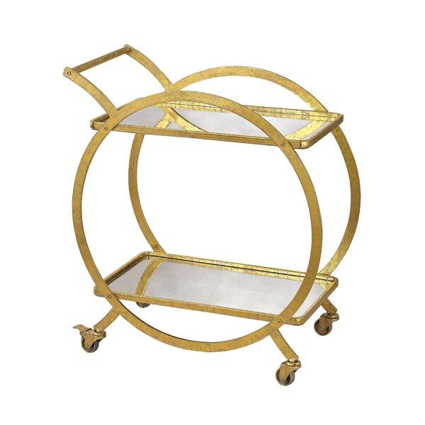 Tryphosa Bar Cart by Willa Arlo Interiors