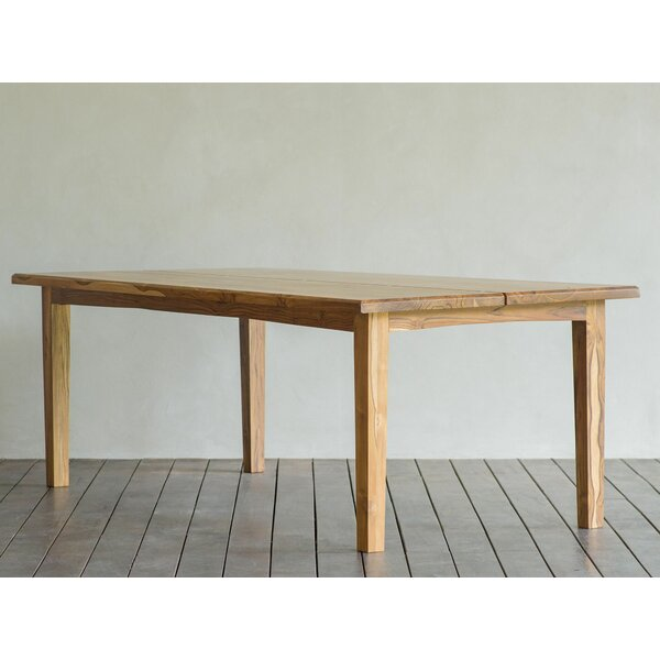 Xiloa Solid Wood Dining Table by Masaya & Co