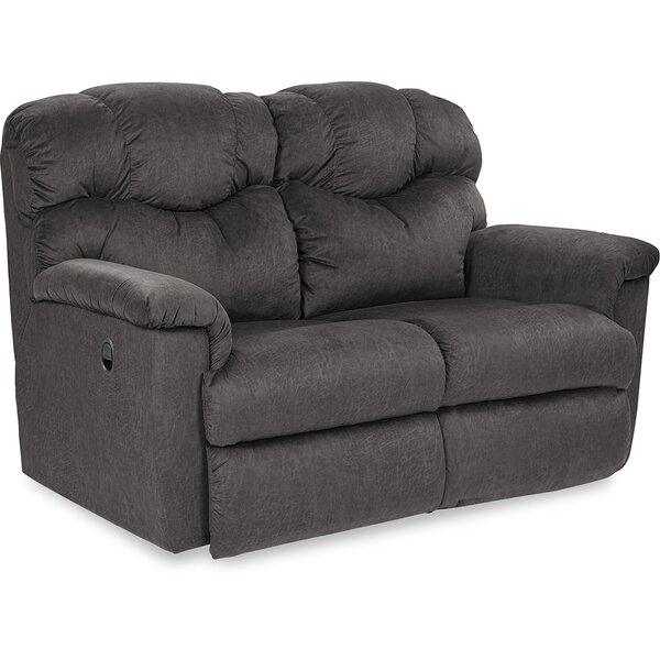 Lancer Leather Reclining Loveseat by La-Z-Boy