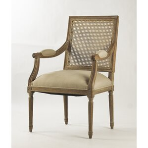 louis solid wood dining chair