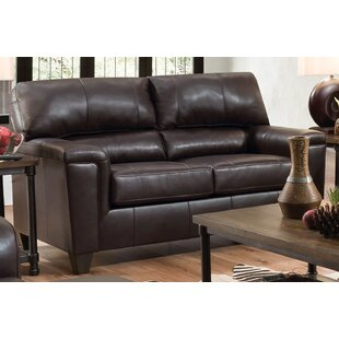 Gaudioso 2 Piece Leather Match Living Room Set by Ebern Designs