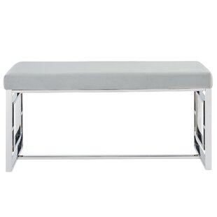 Melendez Stainless Steel Bench by House of Hampton