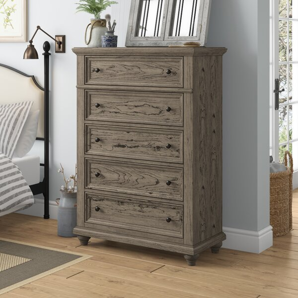 Lorsworth 5 Drawer Chest by Greyleigh