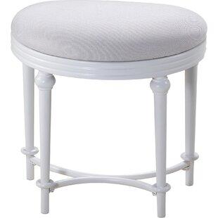 Hampton Vanity Stool by Hillsdale Furniture