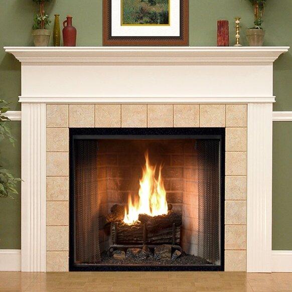 Wood Fireplace Mantel Surround Part - 43: MantelCraft Monticello Fireplace Mantel Surround U0026 Reviews   Wayfair