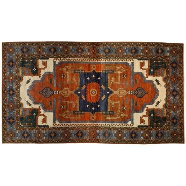 One-of-a-Kind Serapi Hand-Knotted Multicolor Area Rug by Darya Rugs