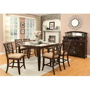Best Reviews Kinsman Counter Height Extendable Dining Table ByDarby Home Co