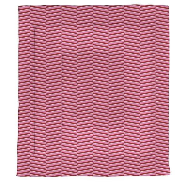 Festive Fractured Stripes Single Comforter