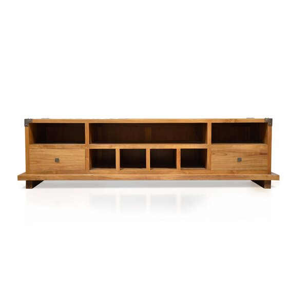 Craut Solid Wood TV Stand For TVs Up To 85