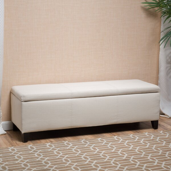 Balmain Tufted Storage Ottoman by Latitude Run