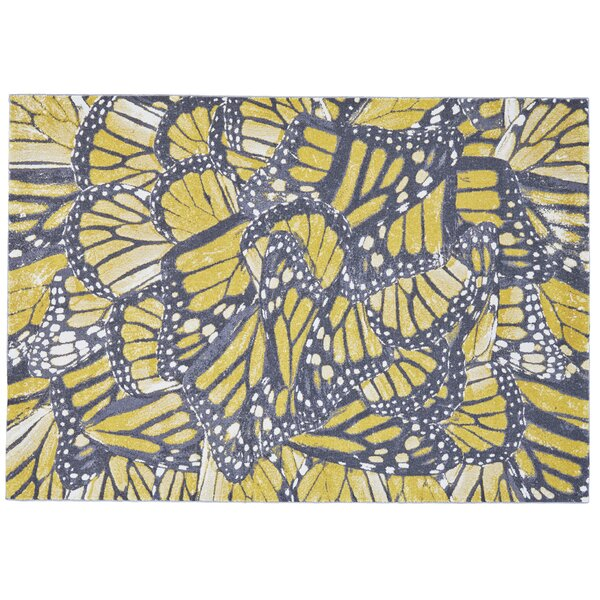Jolana Abstract Area Rug by Bloomsbury Market