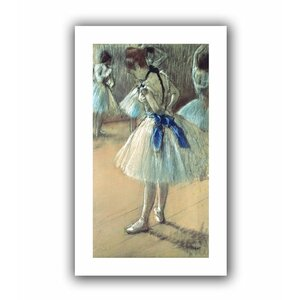 Dancer' by Edgar Degas Painting Print on Rolled Canvas by ArtWall