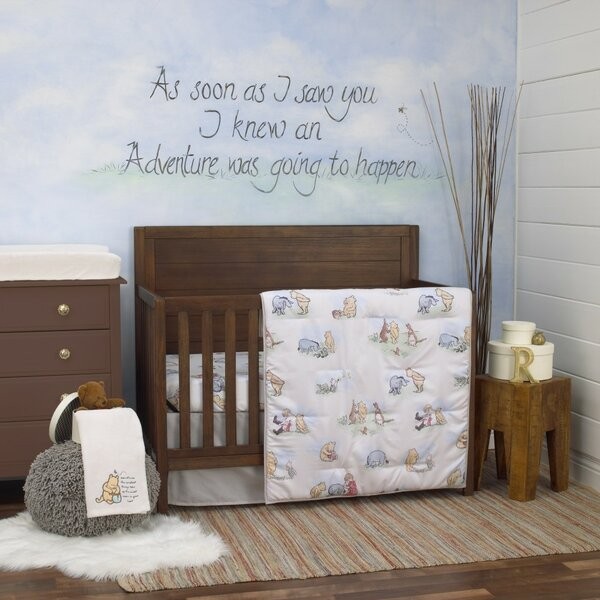 Miraculous Winnie The Pooh Bedding Set Wayfair Andrewgaddart Wooden Chair Designs For Living Room Andrewgaddartcom