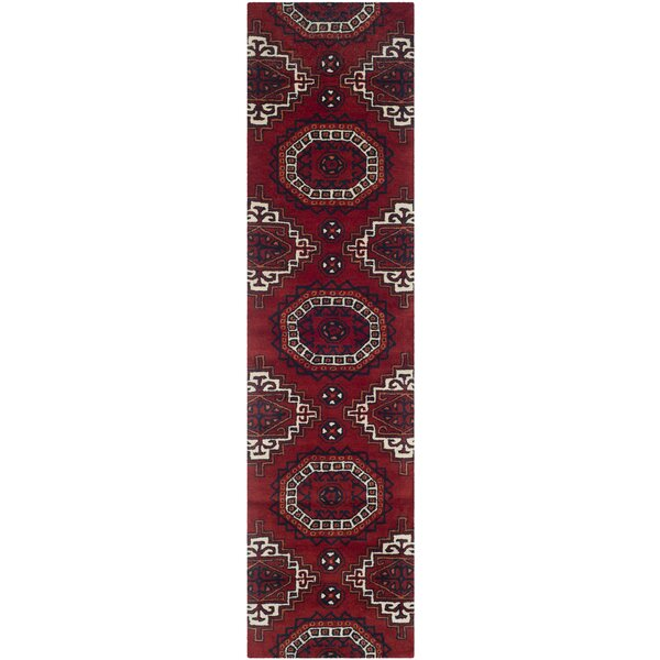Keegan Red Area Rug by Loon Peak