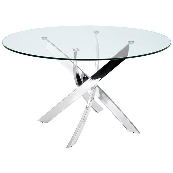 Galaxy Dining Table by Casabianca Furniture Casabianca Furniture