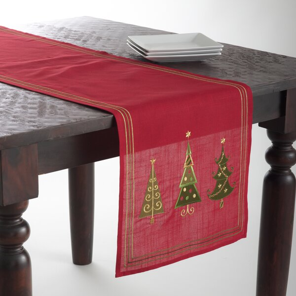 Christmas Tree Design Runner by The Holiday Aisle